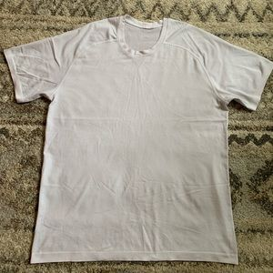 Lululemon Metal Vent White SS Shirt XL
